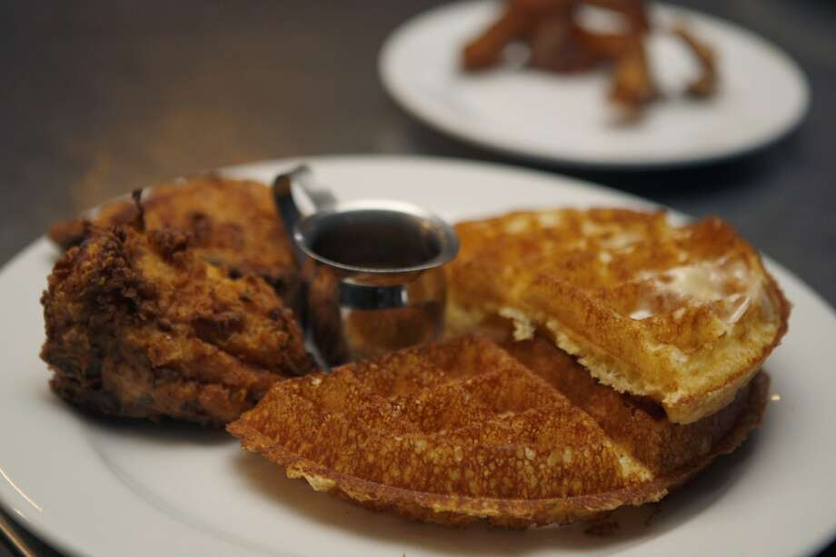 Chicken and waffles at Brown Sugar Kitchen in Oakland, Calif., on Sunday, February 2, 2014. Photo: The Chronicle