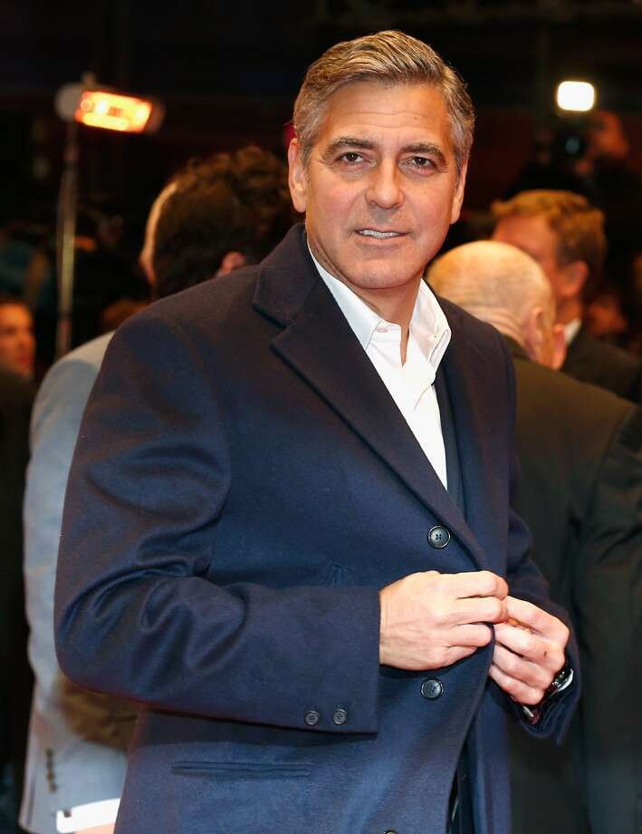 """In a 2011 interview with Rolling Stone Magazine, George Clooney revealed that he lost his virginity at age 16 but experienced his first orgasm much earlier.""""I believe it was while climbing a rope when I was 6 or 7 years old,"""" he told the magazine. """"I remember getting to the top of the rope, hanging off the rope, and going, 'Oh, my God, this feels great!'"""" Photo: Andreas Rentz, Getty Images"""