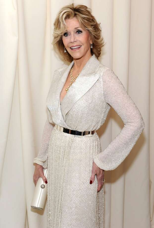 "Jane Fonda has made it part of her recent mission to make sure the public knows that you can have great sex at any age. ""While I am quite flexible and I can kneel, [sex is] not quite as comfortable for me as it used to be before I had a fake knee,"" the Academy-Award winner told television host Amanda de Cadenet 2012. ""[I prefer to be] either lying down or sitting up on a couch with him coming on to me, no pun intended."" Photo: Dimitrios Kambouris, Getty Images For EJAF"