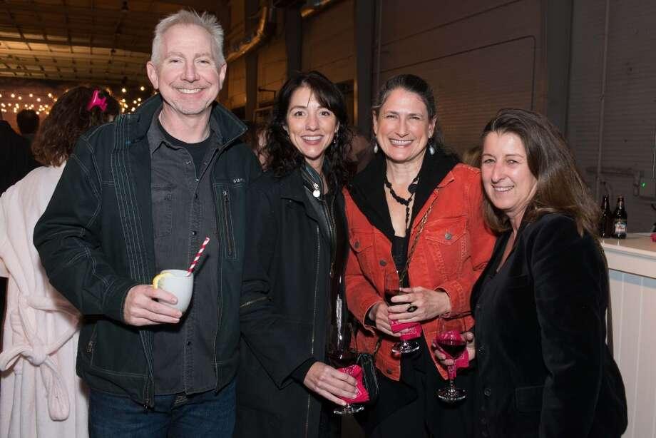 John Jeffries, Franny Koelsch, Claire Cusak, Kathy Frietsch Photo: Jeff Fitlow