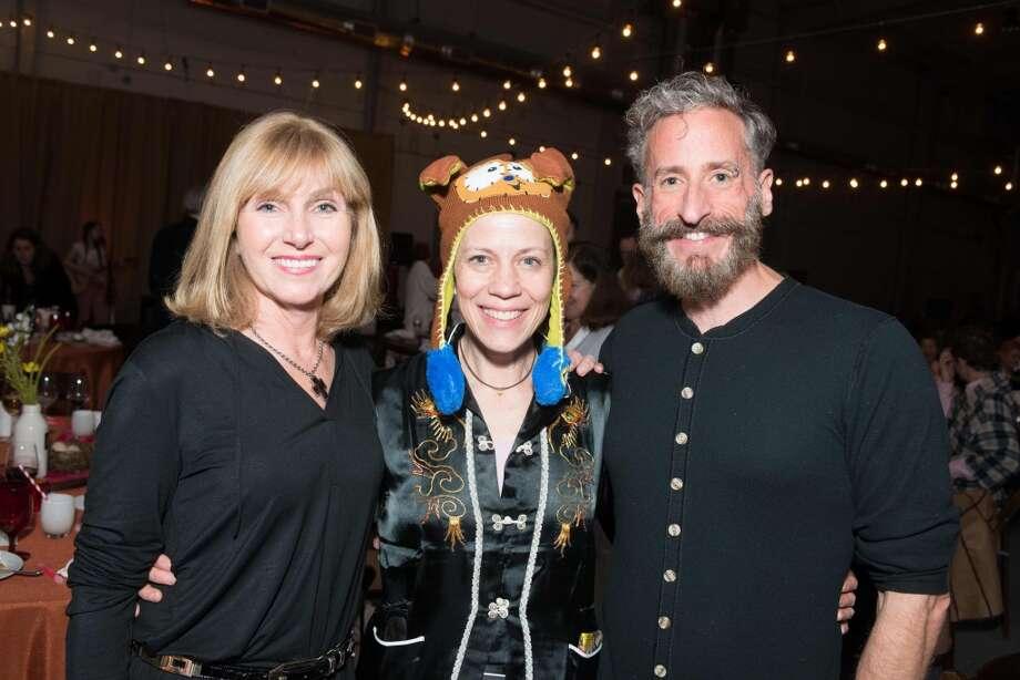 Kathy Harrison, Jane Weiner, Michael Bartha Photo: Jeff Fitlow