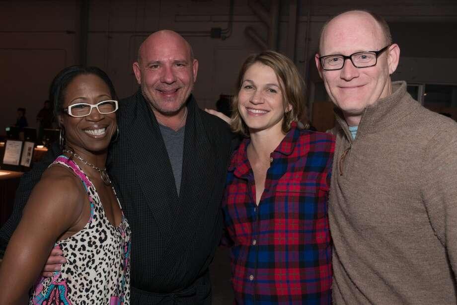 Lauren Anderson, Peter Schmar, Kelly Kubin and Kyle Kubin Photo: Jeff Fitlow