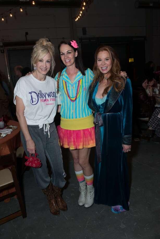 Rebecca Allen, Beth Muecke, Cindi Rose Photo: Jeff Fitlow
