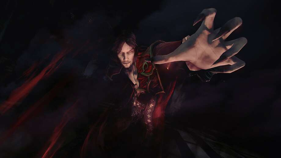"Gabriel Belmont returns as Dracula himself in the new video game ""Castlevania: Lords of Shadow 2."" Photo: Konami"