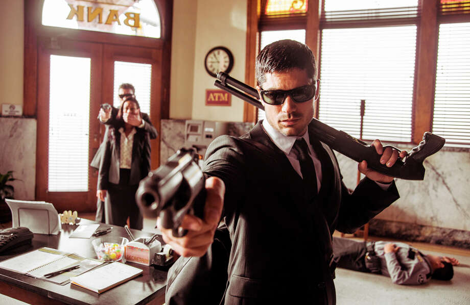 """Seth Gecko (D.J. Cotrona) is the brains of the Gecko brothers operation in """"From Dusk Till Dawn: The Series,"""" premiering at 8 p.m. Tuesday. Photo: HOEP / El Rey Network"""