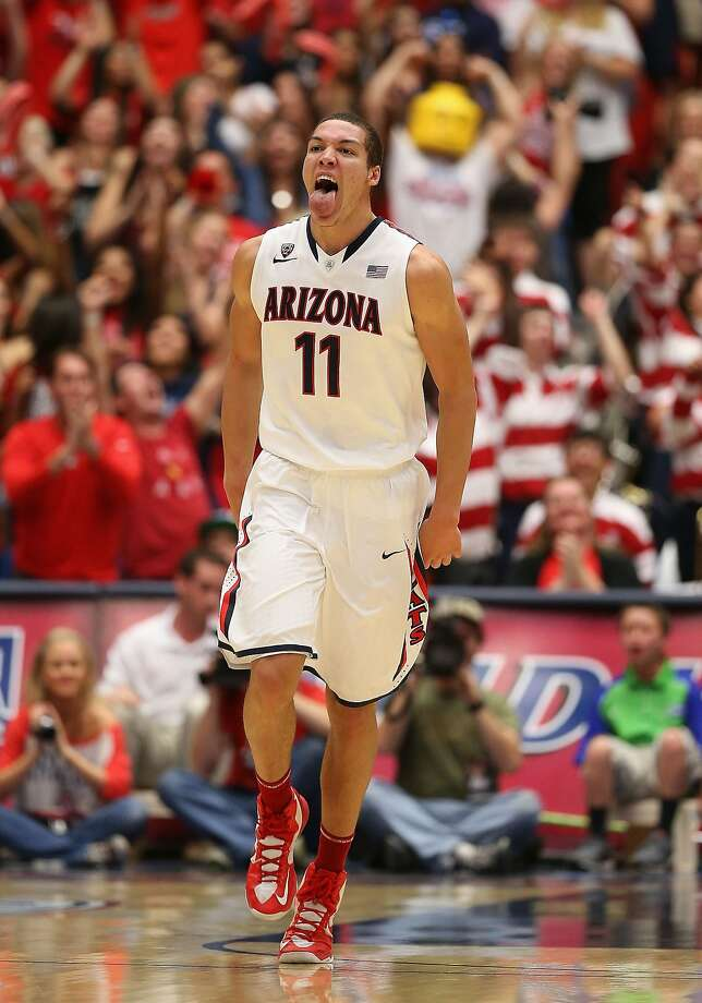 Arizona's Aaron Gordon, from Mitty High, was voted Freshman of the Year by Pac-12 coaches. Photo: Christian Petersen, Getty Images