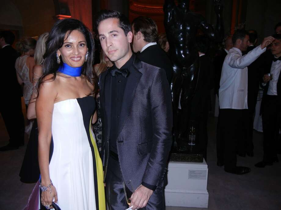Komal Shah and Kevin Nord at the Mid-Winter Gala. Photo: Catherine Bigelow