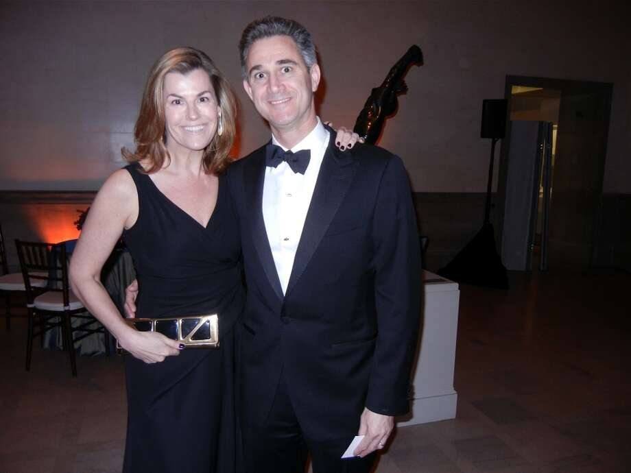 Meredith and Erez Levy at the Mid-Winter Gala. Photo: Catherine Bigelow