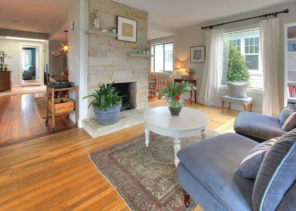 Living room of 3224 N.W. 62nd St. It's listed for $600,000.