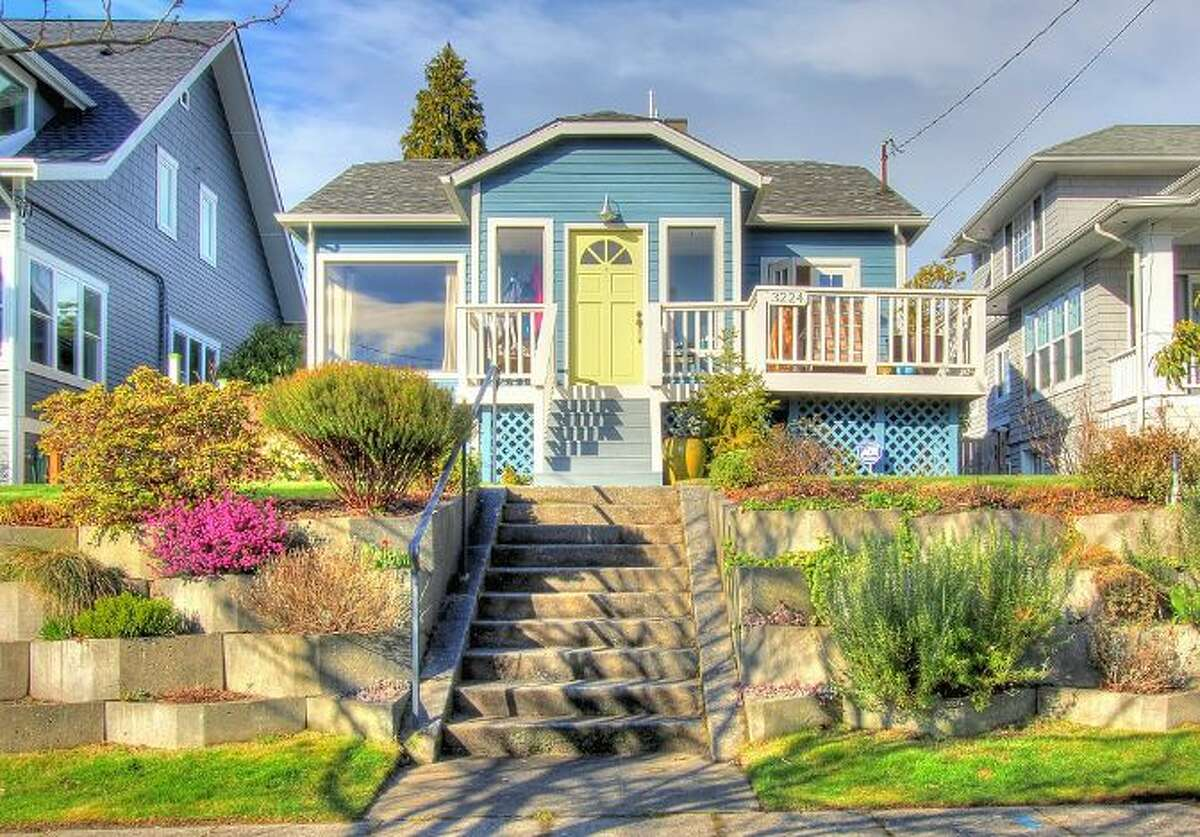 We'll start with the oldest and lowest-priced home on our virtual tour, 3224 N.W. 62nd St., which was built in 1923 and is listed for $600,000. The 2,160-square-foot house has three bedrooms, 1.75 bathrooms, a family room, a rec room, French doors, front and back decks, a patio and a two-car garage on a 5,400-square-foot lot with views of Puget Sound and the Olympic Mountains.