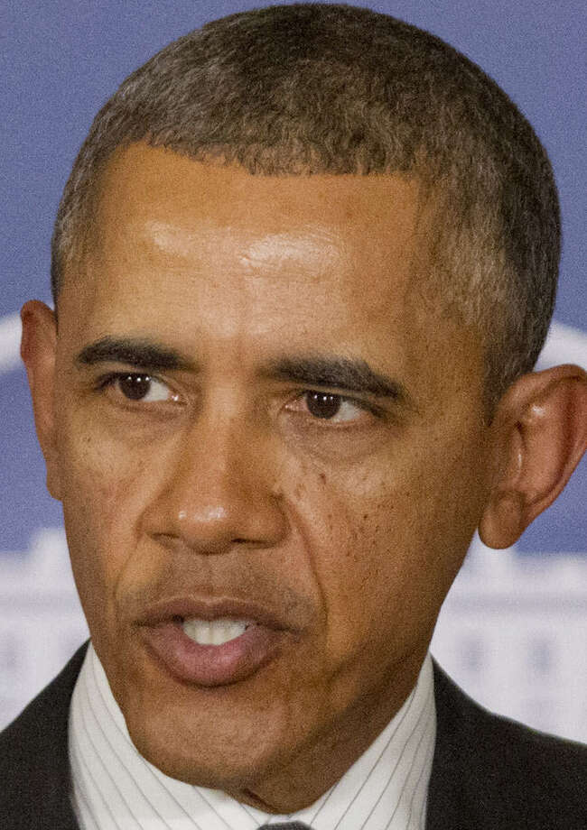 President Barack Obama appealed to China's opposition to interference in other nations' affairs. / AP