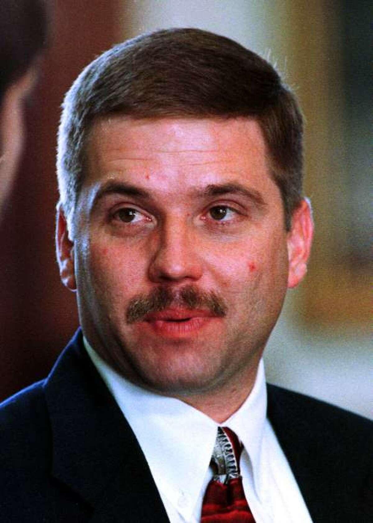 Texas state Sen. Michael Galloway HOUCHRON CAPTION (03/12/1998): Galloway