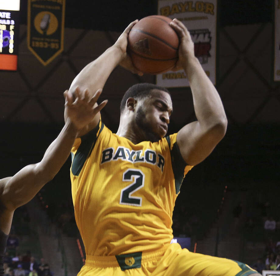 Baylor's Rico Gathers has averaged a double-double against TCU, the Bears' first-round tournament foe. Photo: Rod Aydelotte / Waco Tribune-Herald / Waco Tribune Herald