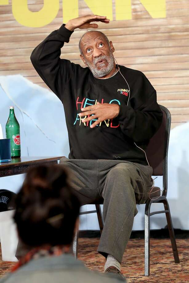 Actor-comedian Bill Cosby performs onstage at Funny Or Die Clubhouse + Facebook Pop-Up HQ at SXSW. Photo: Jonathan Leibson, Getty Images