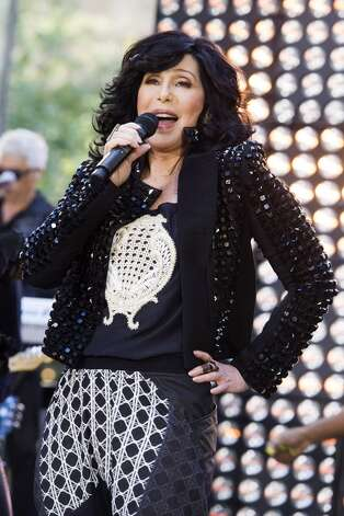 Cher will be at the Times Union Center on Sept. 11 with Pat Benatar. Photo: Charles Sykes, Associated Press