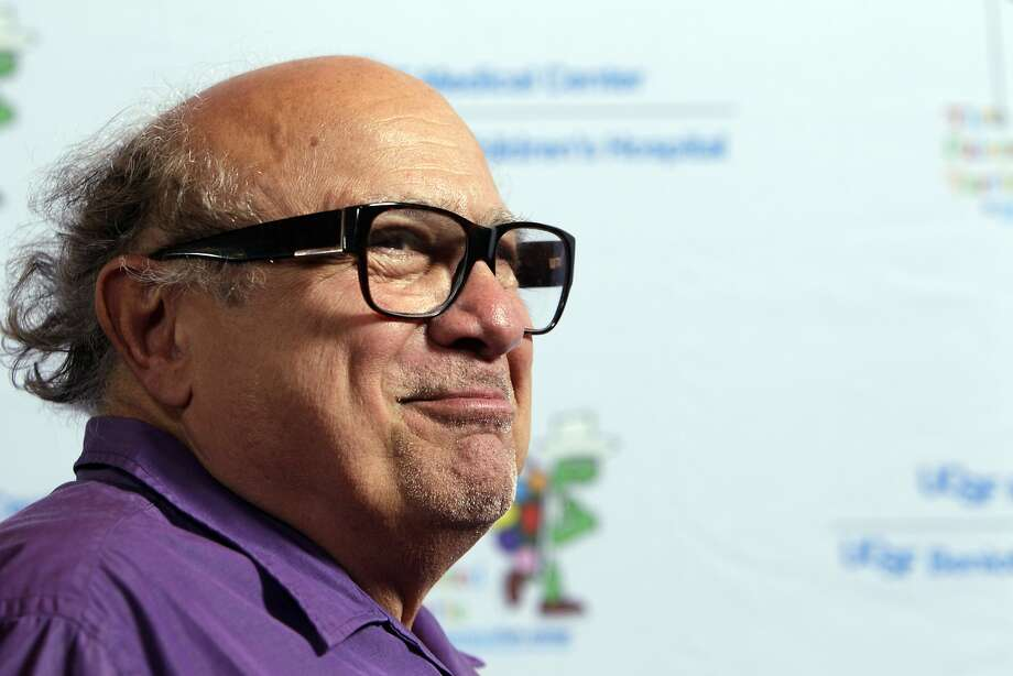 """Danny Devito smiles as he is interviewed as celebrities arrived for the Painted Turtle and UCSF Medical Center benefit, """"A Starry Evening of Music Comedy, and Surprises,"""" at Davies Symphony Hall in San Francisco, Calif., on Monday, March 10, 2014. Photo: Carlos Avila Gonzalez, The Chronicle"""