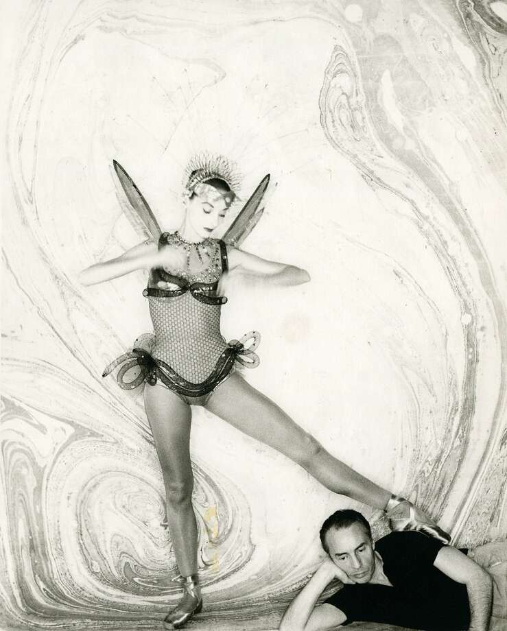 "Tanaquil Le Clercq and George Balanchine in ""Afternoon of a Faun: Tanaquil Le Clercq"" Photo: Kino Lorber"