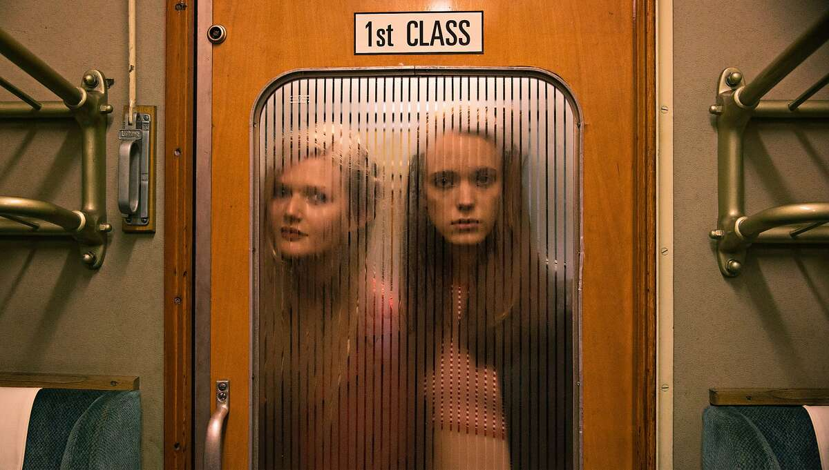 """Sophie Kennedy Clark, left, and Stacy Martin in """"Nymphomaniac: Volume 1""""w"""