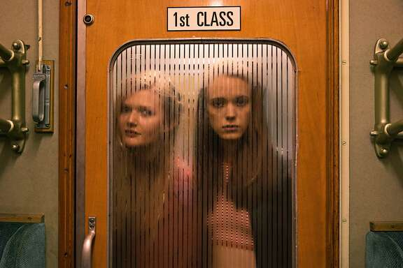 "Sophie Kennedy Clark, left, and Stacy Martin in ""Nymphomaniac: Volume 1""w"