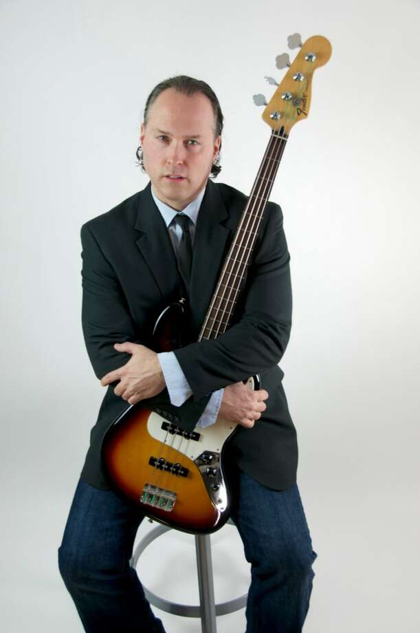 "Joe ""Bearclaw"" Burcaw, who grew up in New Milford, is the bassist for Black 47, which will perform in Yonkers, N.Y., on March 16, 2014. Dan Kane Photography"