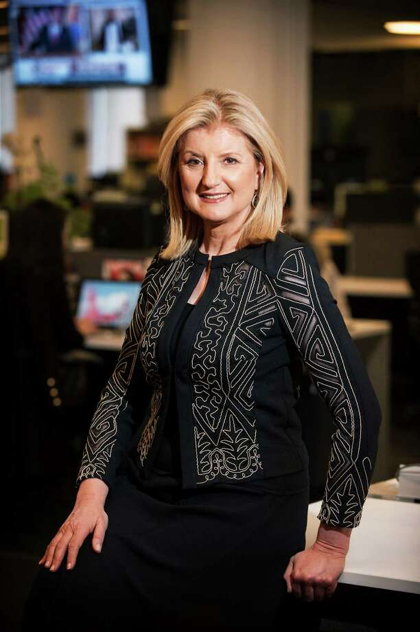 Huffington Post founder and editor-in-chief Arianna Huffington will be the keynote speaker at the Center for HOPE's annual luncheon Wednesday, April 23, at the Woodway Country Club in Darien. Photo: Contributed Photo, Huffington Post / New Canaan News