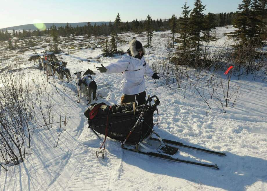 Iditarod musher Aliy Zirkle. Photo: Bob Hallinen, McClatchy-Tribune News Service / Anchorage Daily News