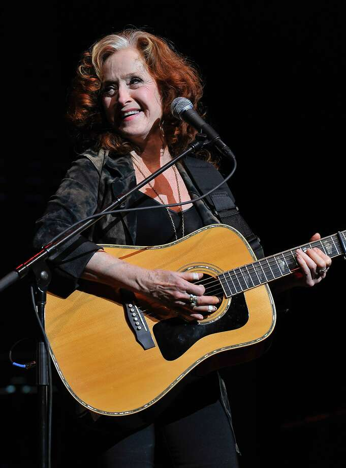 Bonnie Raitt performs at the UCSF Medical Center and The Painted Turtle Present A Starry Evening of Music, Comedy & Surprises at Davies Symphony Hall on March 10, 2014 in San Francisco, California.  Photo: Steve Jennings, Getty Images For The Painted Tur