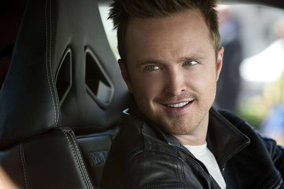 "Aaron Paul in the video-game-inspired ""Need for Speed."" Photo: Melinda Sue Gordon, Associated Press"