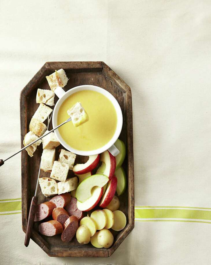 Cheddar-Beer Fondue, from Good Housekeeping Photo: James Baigrie