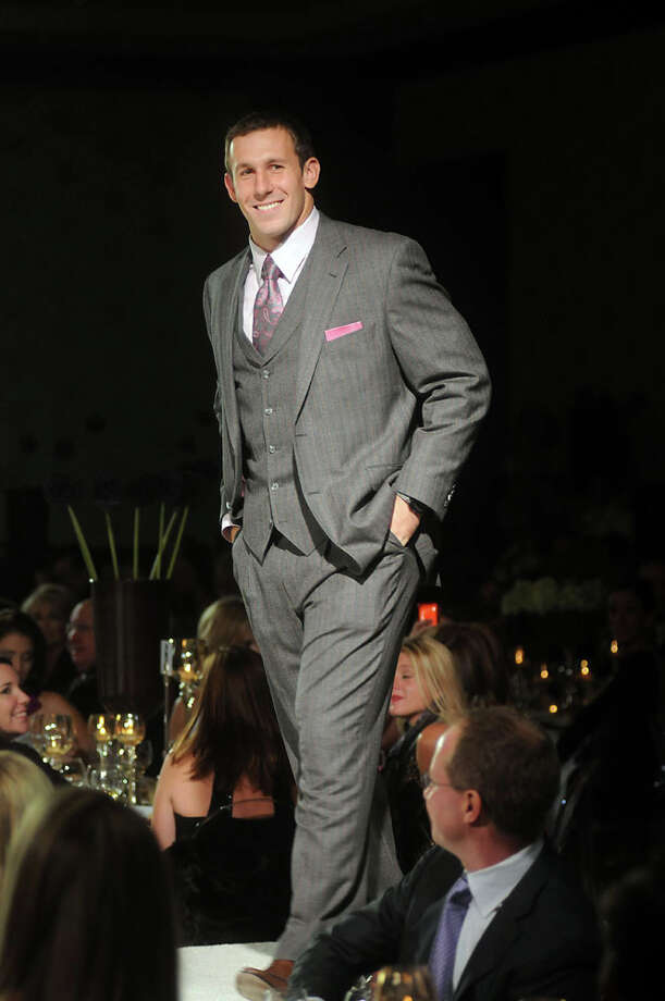 Owen Daniels walks the runway at the Una Notte Italia presented by Festari for Men and benefitting Family Services of Greater Houston at the InterContinental Hotel Nov. 05, 2010. Photo: Dave Rossman, For The Chronicle / Freelance