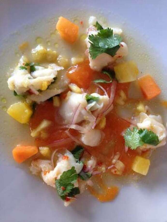 Caracol  Cuisine: Seafood Entree price range: $$$ Where: 2200 Post Oak Blvd #160 Phone: (713) 622-9996 Website: caracol.net