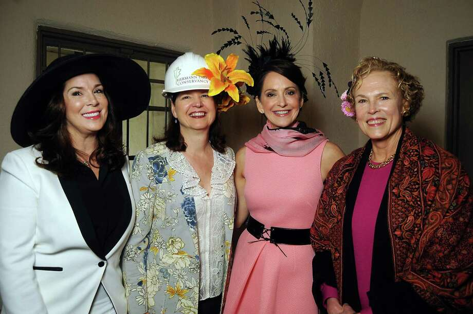 Honoree Cherie Flores, from left, Doreen Stoller, chair Laurie Morian and Ann Kennedy Photo: Dave Rossman, Freelance / Freelance