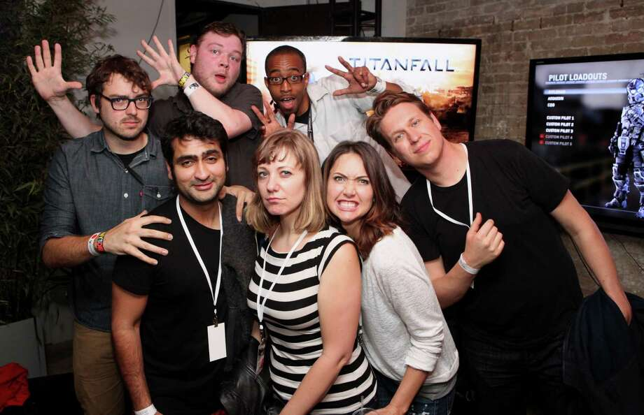 "IMAGE DISTRIBUTED FOR MICROSOFT - The cast of HBO's ""Silicon Valley"" at the ""Titanfall"" on Xbox One launch event at SXSW on Monday, March 10, 2014, in Austin, Texas. (Photo by Hal Horowitz/Invision for Microsoft/AP Images) Photo: Hal Horowitz, Associated Press / Invision"