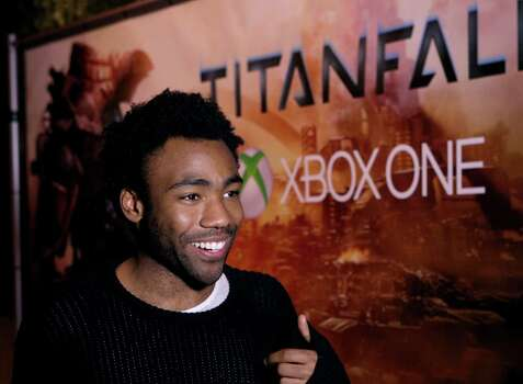 "IMAGE DISTRIBUTED FOR MICROSOFT - Donald Glover of Childish Gambino at the ""Titanfall"" on Xbox One launch event at SXSW on Monday, March 10, 2014, in Austin, Texas. (Photo by Hal Horowitz/Invision for Microsoft/AP Images) Photo: Hal Horowitz, Associated Press / Invision"