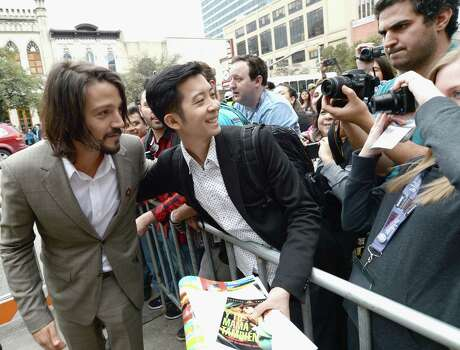 "AUSTIN, TX - MARCH 10:  Director Diego Luna arrives at the premiere of ""Cesar Chavez"" during the 2014 SXSW Music, Film + Interactive Festival"" at the Paramount Theatre on March 10, 2014 in Austin, Texas. Photo: Michael Buckner, Getty Images For SXSW / 2014 Getty Images"