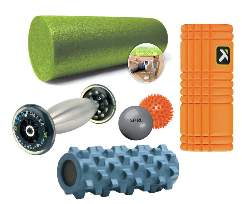 Foam rollers and massagers are great for stretching and opening up soft tissue to help detoxify the body. (Times Union)
