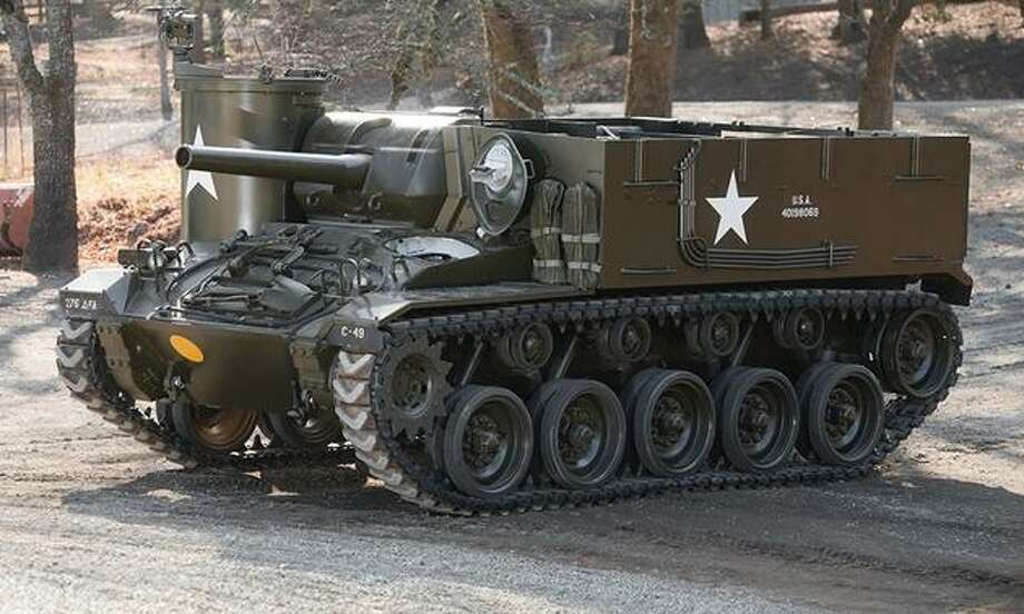 The M37 105mm Howitzer Motor Carriage Photo: Auctions America