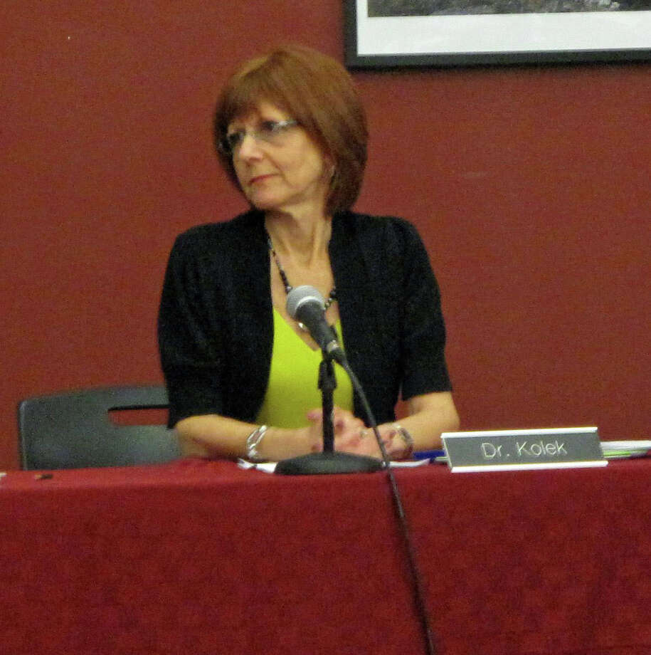 New Canaan Superintendent of Schools Mary Kolek is retiring, effective June 30. Photo: File Photo / New Canaan News