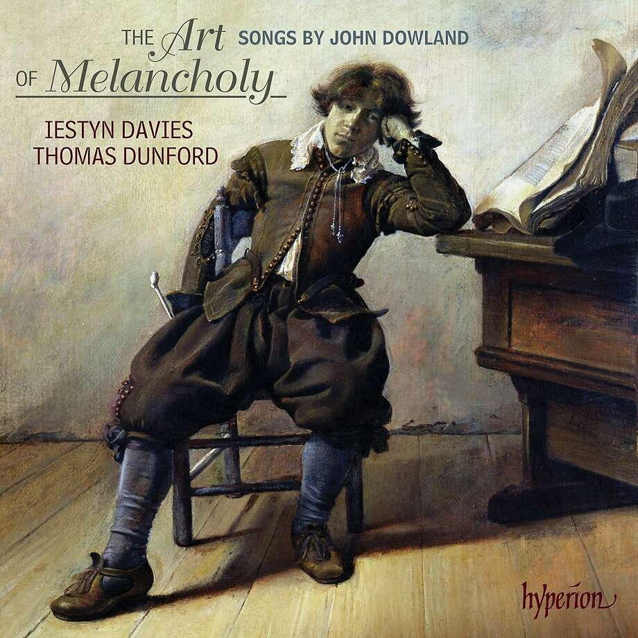 "cd cover: ""John Dowland: The Art of Melancholy"" performed by Iestyn Davies, Thomas Dunford. Photo: Hyperion, Amazon.com"