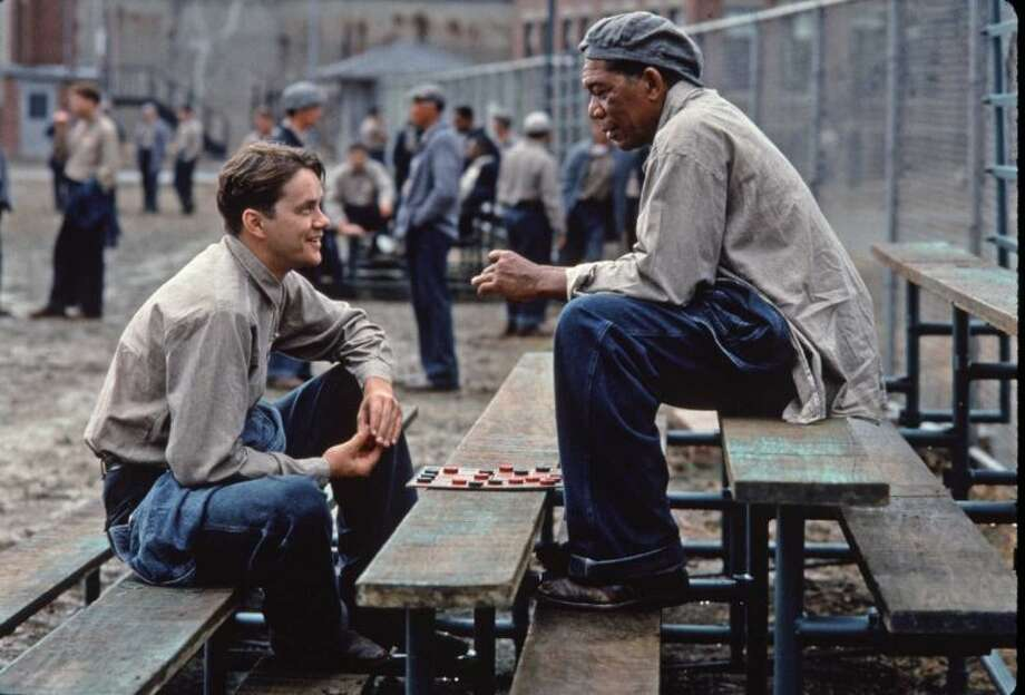 "90% Fresh: The Shawshank Redemption, 1994 - Also based on a King novella, ""The Shawshank Redemption"" starred Morgan Freeman and Tim Robbins."
