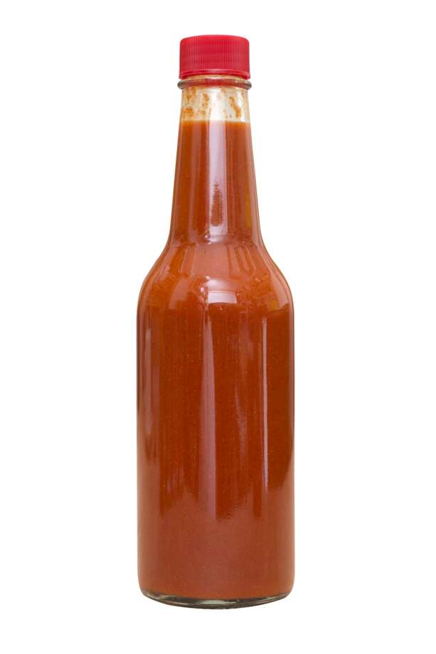 "A good evening ruinedPolice tracked a suspect down in the streets after he allegedly struck a Chipotle employee in the face with a glass bottle of hot sauce, cutting the employee and himself. The suspect had become enraged when the employee wished him a ""good evening."" Photo: Erickson Photography, Getty Images"