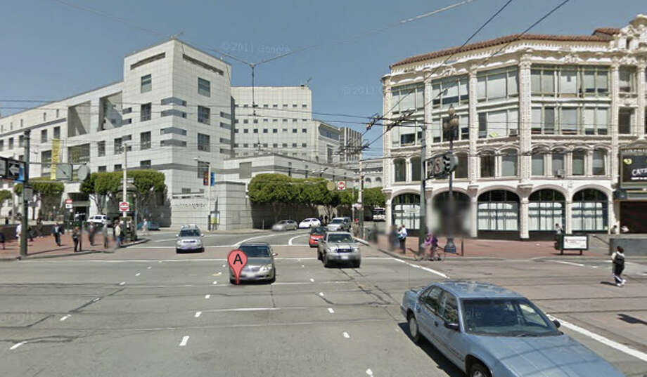 Hyde and Market Streets in San Francisco, CA Photo: Google Maps