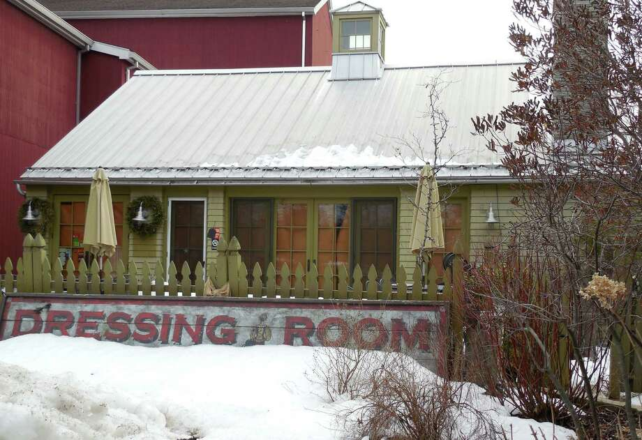 The Dressing Room restaurant, next to Westport Country Playhouse, closed in January, prompting complaints from some holders of unredeemed gift cards. Photo: Anne Amato / Westport News