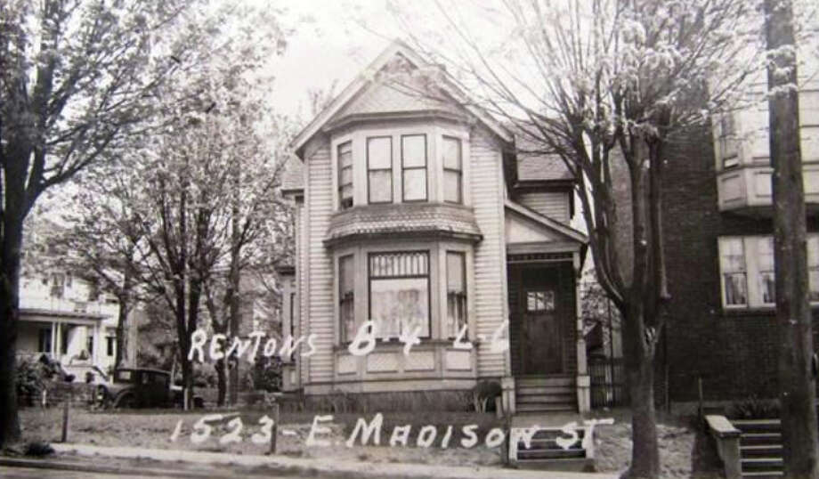 "1523 E. Madison Street – 1893-1898 – This former single-family residence, now home to offices, was built during one of Seattle's earliest building booms. At the time, the Central District was one of the city's first ""streetcar suburbs."" was driven largely by a new streetcar line. Photo: Photos Provided To Seattle Historic Preservation Office"