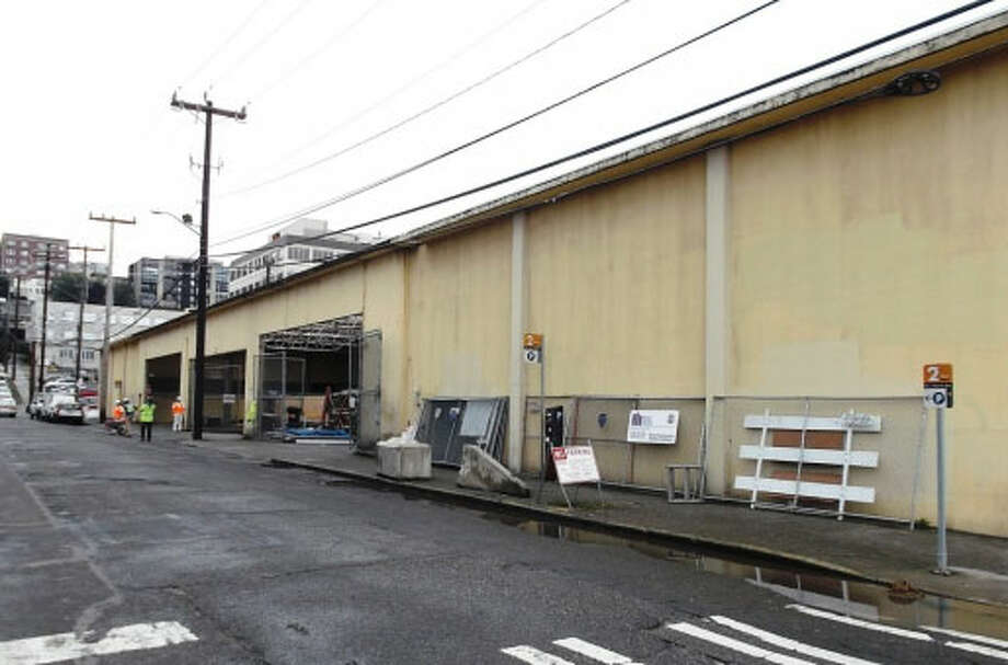 Seattle School District Warehouse – 1955-1956 – Built in South Lake Union's Cascade neighborhood, the site was home to the Cascade School from 1894 until its demolition in 1955. The building's wavy roof is the result of nine barrel-vaulted ceiling sections. Photo: Photos Provided To Seattle Historic Preservation Office