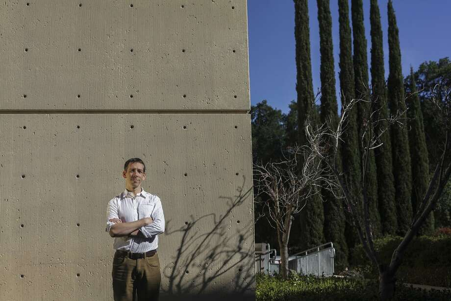 "Euan Ashley, co-director of the Clinical Genomics Service that is conducting the pilot project at Stanford hospital, says: ""We think the future is here and it's time to jump in."" Photo: Sam Wolson, Special To The Chronicle"
