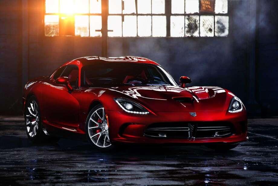 The Dodge Viper GTS Photo: Dodge