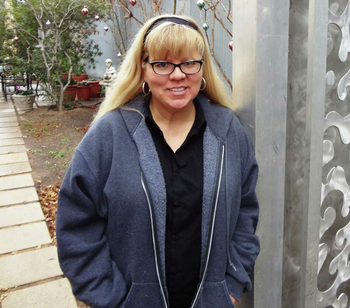 """A city art official said of Cakky Brawley: """"She has a great understanding of how sculpture can enhance architecture."""""""