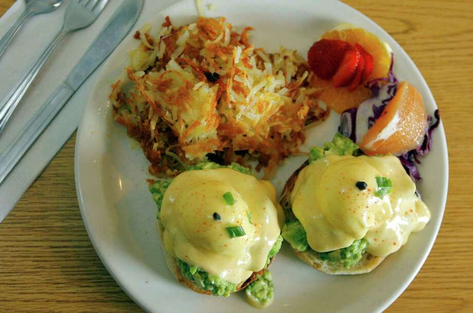 "Glo's Cafe, 1621 E Olive Way, Capitol Hill: ""Remarkable"" Eggs Benedicts, lox and bagels, corned beef hash and a handful of vegetarian and vegan options. Photo: Gilbert W. Arias, Seattlepi.com File Photo / Seattle P-I"