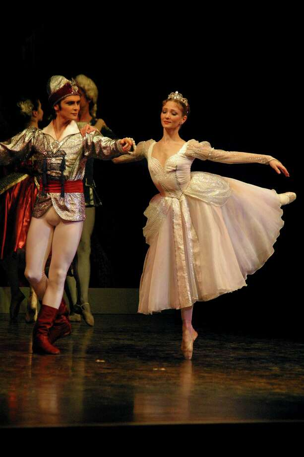 "With more than 50 dancers, the Russian National Ballet Theatre, under the direction of Elena Radchenko, sweeps the majesty of grand ballet history into the Shubert Theater with a performance of ""Cinderella"" on Saturday, March 22 at 2 and 8 p.m. Photo: Contributed Photo / Connecticut Post Contributed"